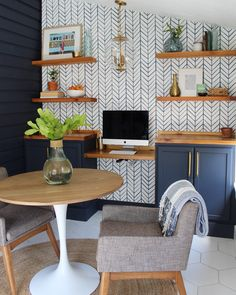 Home Office + Small Dining Reveal