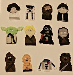 PR Friendly Mom Blogger -MomsReview4You: Star Wars Finger Puppets Craft