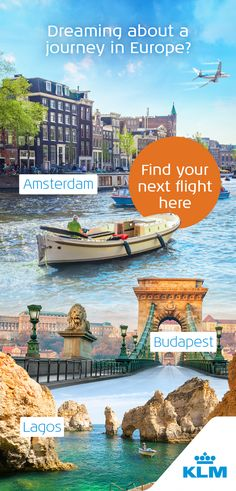 Great museums, a buzzing nightlife and amazing food: Europe has it all. Fly with KLM to your next holiday in Europe!