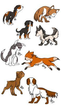 deviantART Dog | Chibi dog adopts SOLD by whalebutt