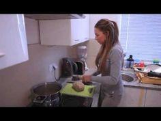 Szejtán(búzahús) készítés - YouTube