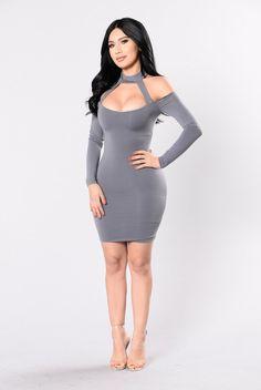 I'm That Chick Dress - Grey