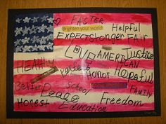 found this on What's Happeining in the Art Room Blog. Thinking for 5th grade PA history unit and....Jasper Johns