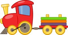 locotoy by @jean_victor_balin, A toy train., on @openclipart