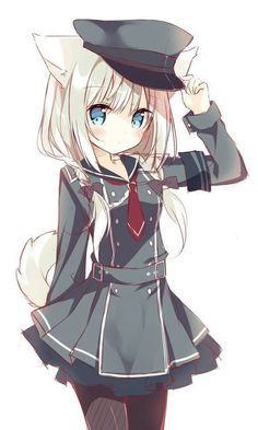 Anime l Game l Japan l Manga l Vocaloid Anime Girl Neko, Kawaii Neko Girl, Chat Kawaii, Lolis Neko, Loli Kawaii, Anime Wolf Girl, Moe Anime, Chica Anime Manga, Anime Girl Cute