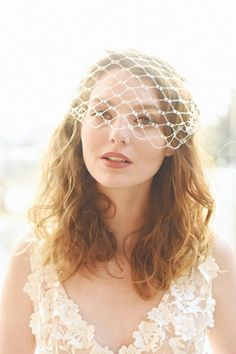 Bridal Birdcage Veil Modern Vintage Veil Birdcage Veil Vintage Veils, Bird Cage, Crown, Bridal, Trending Outfits, Unique Jewelry, Handmade Gifts, Modern, Etsy
