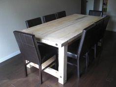 DIY Farmhouse table - outside area?