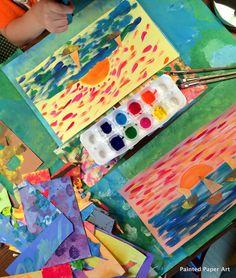 Leere Gerollte White Papers Für Bastelprojekte Safe Thick Kids Painting Paper
