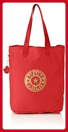 a7c471b3e7 Kipling Hip Hurray 5 Tote Bag Happy Red - Totes ( Amazon Partner-Link)