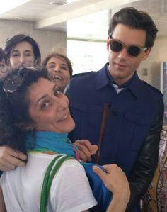 Mika incontra le badgirls Roma xfactor 2014