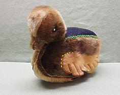 Vintage Alaskan Inuit Souvenir Duck Pin Cushion by COBAYLEY, $60.00