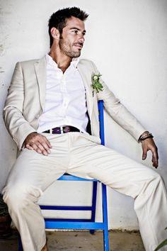 Unique Stylish Beach Wedding Groom Attire : 100+ Cool Ideas https://bridalore.com/2017/07/03/stylish-beach-wedding-groom-attire-100-cool-ideas/
