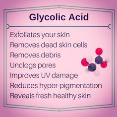 Just a few of the amazing benefits of this superstar ingredient.  Find out why you should be using Glycolic Acid in your skincare routine!  #skincare #antiaging #beautyblog #skincareproducts