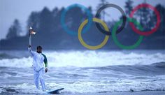 surfing the olympics