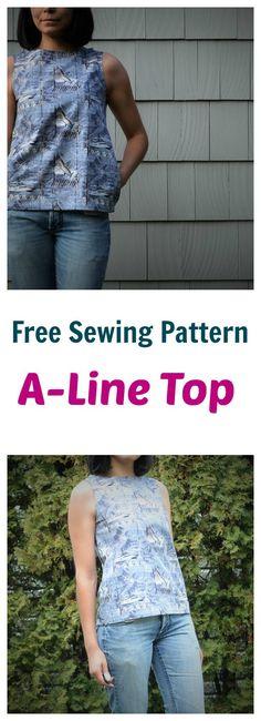 Free Sewing Pattern: - pattern saved to my Dropbox