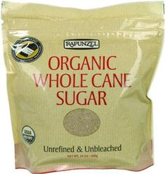 I got this natural unbleached Organic cane sugar in the mail today (yes for free because of my blog) & I love it, it has a sight molasses taste & smell. And yes it is dark color, the kids said it looks like powdered clay lol, so yup it is very natural & unbleached & awesome. Because so many have asked for a good source of Natural Unbleached Organic sugar that I would recommend, here you go. https://secure.ttpurchase.com/295FC7BD-D5E0-66B0-A84E6D6F5122C225