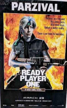Rambo Ready Player One Poster Mash Up. See all 12 Iconic Movies, Classic Movies, Good Movies, Awesome Movies, Cultura Pop, Parzival Ready Player One, Gamer Meme, The Iron Giant, Pop Culture References