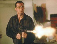 Steven Seagal - Marked For Death Movie Still Action Movie Stars, Action Film, Action Movies, Kendo, Aikido, Cops Tv, Michigan, 1990 Movies, Steven Seagal