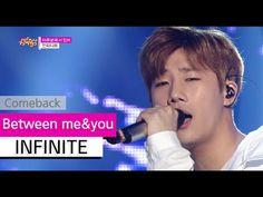 [Comeback Stage] INFINITE - Between me&you, 인피니트 - 마주보며 서 있어, Show Music...