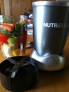 yay,got a #nutribullet today!sale $99.99 at @CanadianTire Tried my first shale and love it...it get's everything small