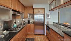 Wood Top 8 Square U Shaped Kitchen 2016