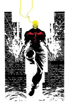 Iron Fist: The Living Weapon #4 cover by Kaare Andrews