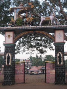 Temple between Varkala and Edava (Kerala - India)  Last morning.....