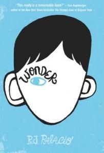 Wonder by R. J. Palacio  - a few pages into this book I had tears in my eyes and was in love with a 10 year old boy. Brilliant book. Love it.