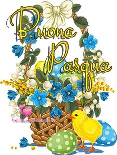 Buona Pasqua immagini 2019 2 - BellissimeImmagini.it Tweety, Easter, Animation, Character, Party, Anime, Lettering, Animated Cartoons, Motion Design