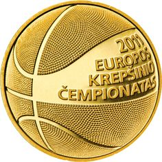 In 2011, Lithuania released collector coins (a gold 50 lietuva and a regular 1 litas) to celebrate the European Basketball Championship of 2011.