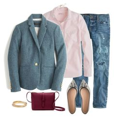 """""""Untitled #1438"""" by kittywitty ❤ liked on Polyvore featuring J.Crew and Madewell"""
