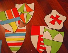 Madre, Mujer, Maestra: Fiesta de caballeros y princesas Miraculous, Knight, Rome, Summer, Kids, Reading, Medieval Shields, Princess Party, Medieval Party