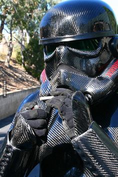 You can be cool, but you can't be smoking-carbon-fiber-stormtrooper cool