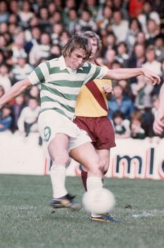 Kenny Dalglish of Celtic in Celtic Pride, Celtic Fc, Kenny Dalglish, British Football, Liverpool Football Club, Vintage Football, Soccer, Sports, Glasgow