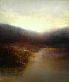 """""""The Marsh in September,"""" original figurative painting by artist Maurice Sapiro (USA) available at Saatchi Art #SaatchiArt"""