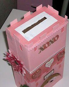 Castle valentine box
