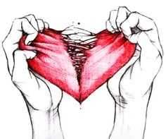 Feeling the strands of my heart tearing apart every second