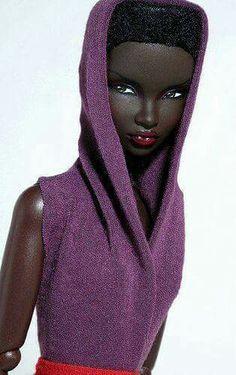 Grace Jones Barbie Doll