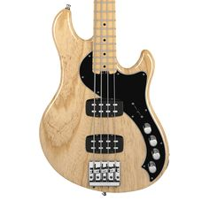 Fender American Deluxe Dimension Bass IV HH - Natural with Case