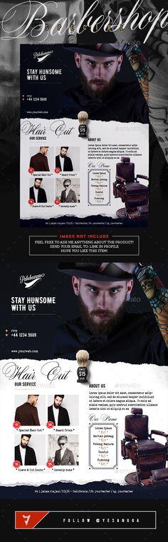 Barbershop Special Flyer Template PSD