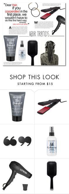 """""""~Hair trends~"""" by dolly-valkyrie ❤ liked on Polyvore featuring beauty, Bumble and bumble, Thairapy365, Kate Spade, Lorion, GHD, hairtrend and hairstyle"""