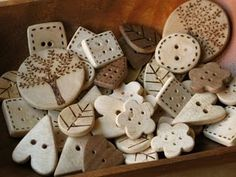 why yes, i do believe i have a wood burning tool somewhere in my craft room....must find. @ http://patchworkpottery.blogspot.com/search?updated-max=2009-11-22T16%3A25%3A00-08%3A00=7
