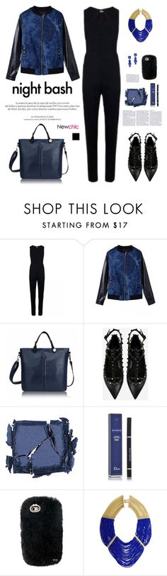 """""""NEWCHIC.COM: Night bash"""" by hamaly ❤ liked on Polyvore featuring Louis Vuitton, Valentino, Surratt, Christian Dior, BCBGMAXAZRIA, women's clothing, women, female, woman and misses"""
