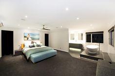 Open Plan Master Bedroom...