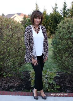 What I Wore-Animal Print...this version is a bit shorter Kelly:)