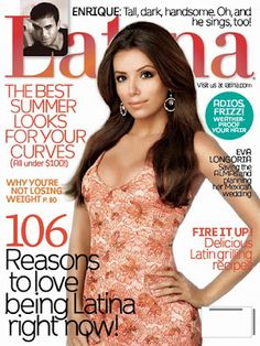 Eva Longoria, IMTA 1998, on the cover of Latina magazine!