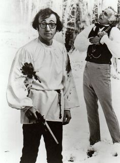 "Woody Allen in perhaps my favorite of his films ""Love and Death""."