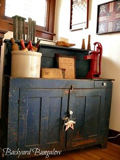Vintage Primitive Decor love it