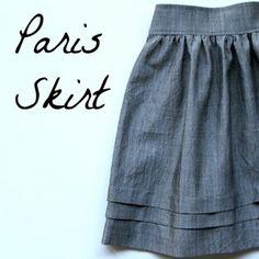 DIY Paris Skirt Tutorial
