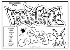 8 Images of Printable Graffiti Coloring Pages Adults | printablee ...